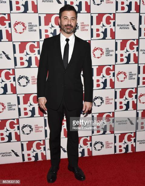 Jimmy Kimmel attends Los Angeles LGBT Center's 48th Anniversary Gala Vanguard Awards at The Beverly Hilton Hotel on September 23 2017 in Beverly...