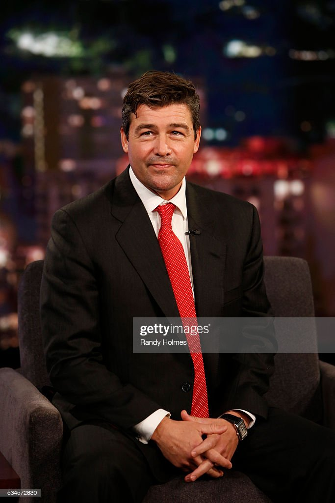 LIVE - 'Jimmy Kimmel Live' airs every weeknight at 11:35 p.m. EST and features a diverse lineup of guests that include celebrities, athletes, musical acts, comedians and human interest subjects, along with comedy bits and a house band. The guests for Thursday, May 26 included Democratic Presidential candidate Bernie Sanders, <a gi-track='captionPersonalityLinkClicked' href=/galleries/search?phrase=Kyle+Chandler&family=editorial&specificpeople=745009 ng-click='$event.stopPropagation()'>Kyle Chandler</a> ('Bloodline') and chefs Frank Falcinelli and Frank Castronovo. KYLE