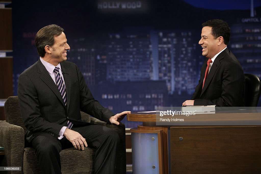 LIVE - 'Jimmy Kimmel Live' airs every weeknight, (12:00 - 1:06 a.m., ET), following 'Nightline,' packed with hilarious comedy bits and features a diverse lineup of guests including celebrities, athletes, musicians, comedians and humorous human interest subjects. The guests for THURSDAY, NOVEMBER 15 included Mel Brooks (DVD box set of 'The Incredible Mel Brooks: An Irresistible Collection of Unhinged Comedy'), broadcaster Jake Tapper ('The Outpost: An Untold Story of American Valor') and musical guest Jason Aldean. JAKE