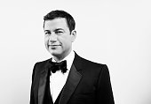APPROVAL Jimmy Kimmel poses for a portrait at the 28th American Cinematheque Award Honoring Matthew McConaughey on October 21 2014 in Beverly Hills...