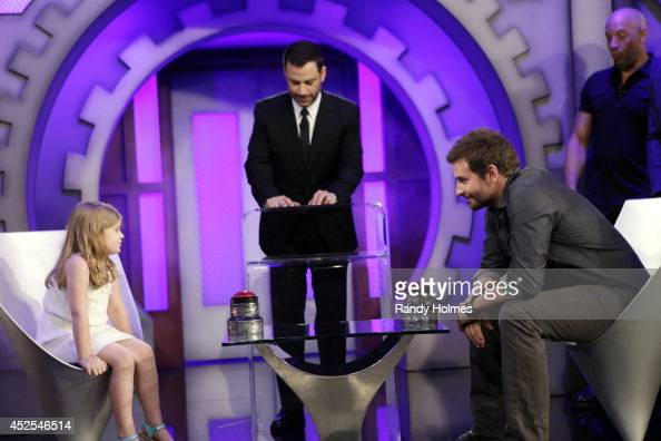 LIVE Jimmy Kimmel welcomes Chris Pratt Zoe Saldana Dave Bautista Vin Diesel and Bradley Cooper to a special 'Guardians of the Galaxy' episode of...
