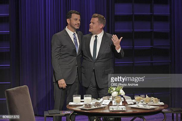 Jimmy Kimmel with James Corden on 'The Late Late Show with James Corden' Thursday Sept 15th On The CBS Television Network