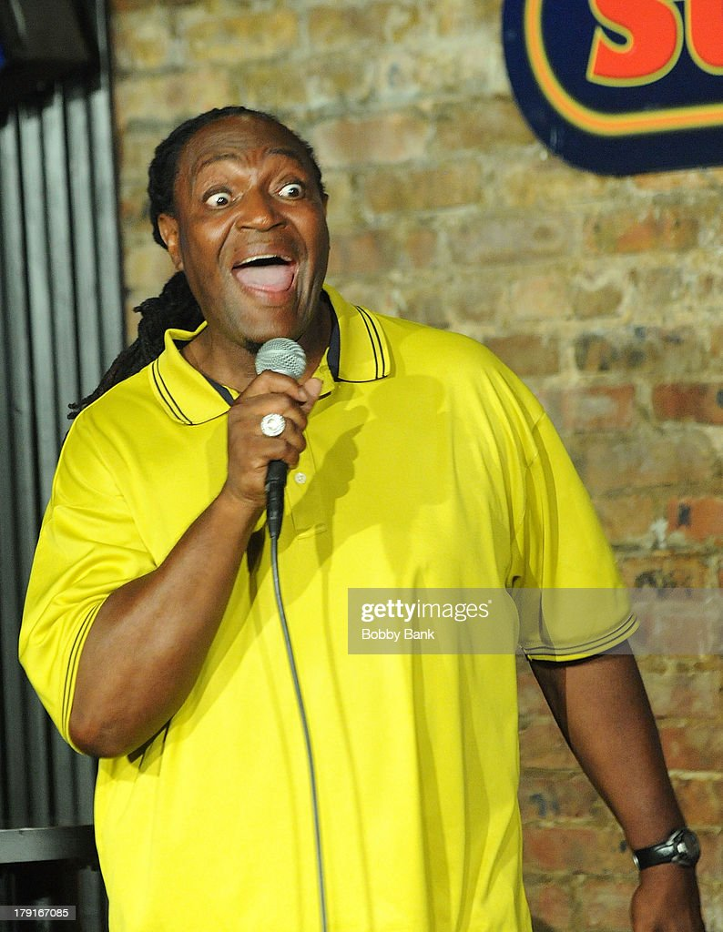 Jimmy Mack performs at The Stress Factory Comedy Club on August 31, 2013 in New Brunswick, New Jersey.