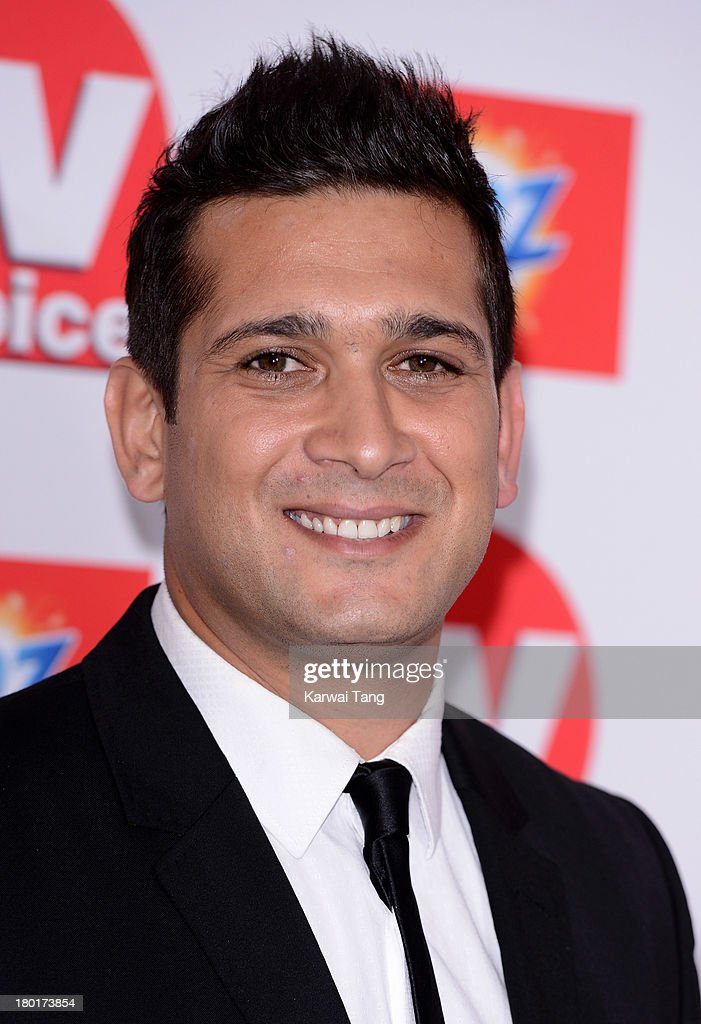 Jimmy Mistry attends the TV Choice Awards 2013 at The Dorchester on September 9, 2013 in London, England.