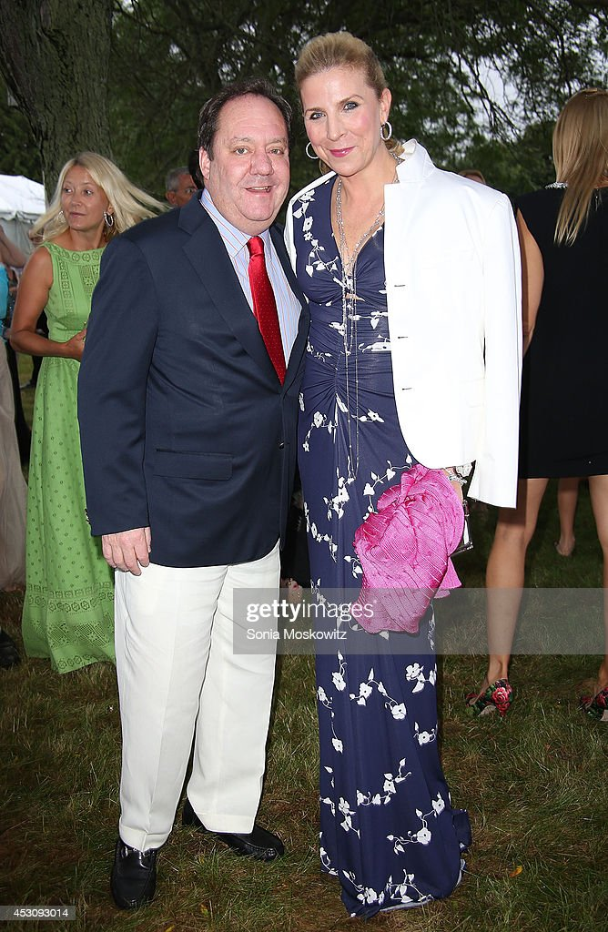 Jimmy Nederlander and Margo Nederlander attend the Southampton Hospital's 56th Annual 'Endless Summmer' party on August 2, 2014 in Southampton, New York.