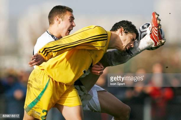 Jimmy NIRLO / Jacques GRONDIN Rennes / Nantes 280207 16eme de finale de la coupe GAMBARDELLA