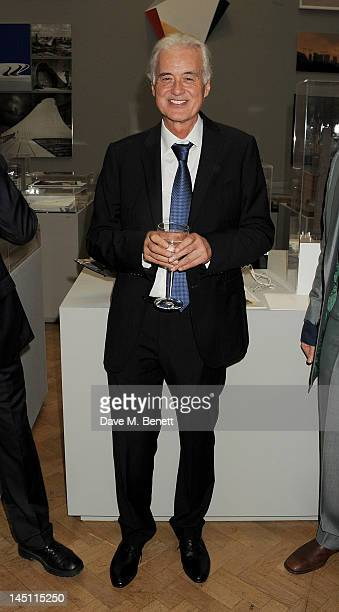 Jimmy Page attends 'A Celebration Of The Arts' at Royal Academy of Arts on May 23 2012 in London England
