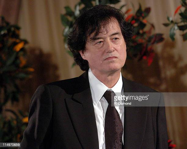 Jimmy Page during GRAMMY Special Merit Awards Ceremony February 12 2005 at Millenium Biltmore Hotel in Los Angeles CA United States Photo by R...