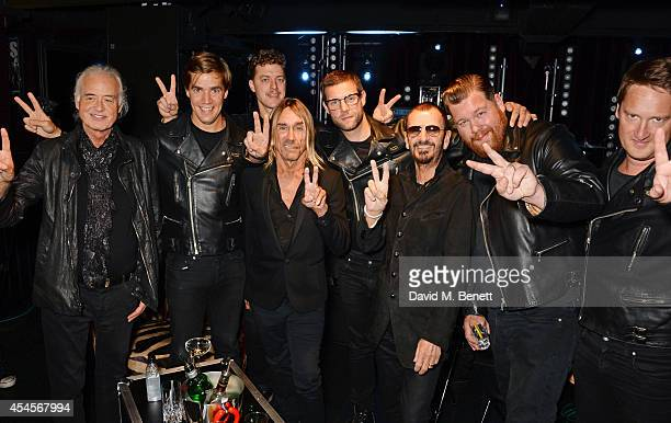Jimmy Page Pelle Almqvist Niklas Almqvist Iggy Pop Randy Fitzsimmons Ringo Starr Vigilante Carlstroem and Christian Grahn attend as John Varvatos...