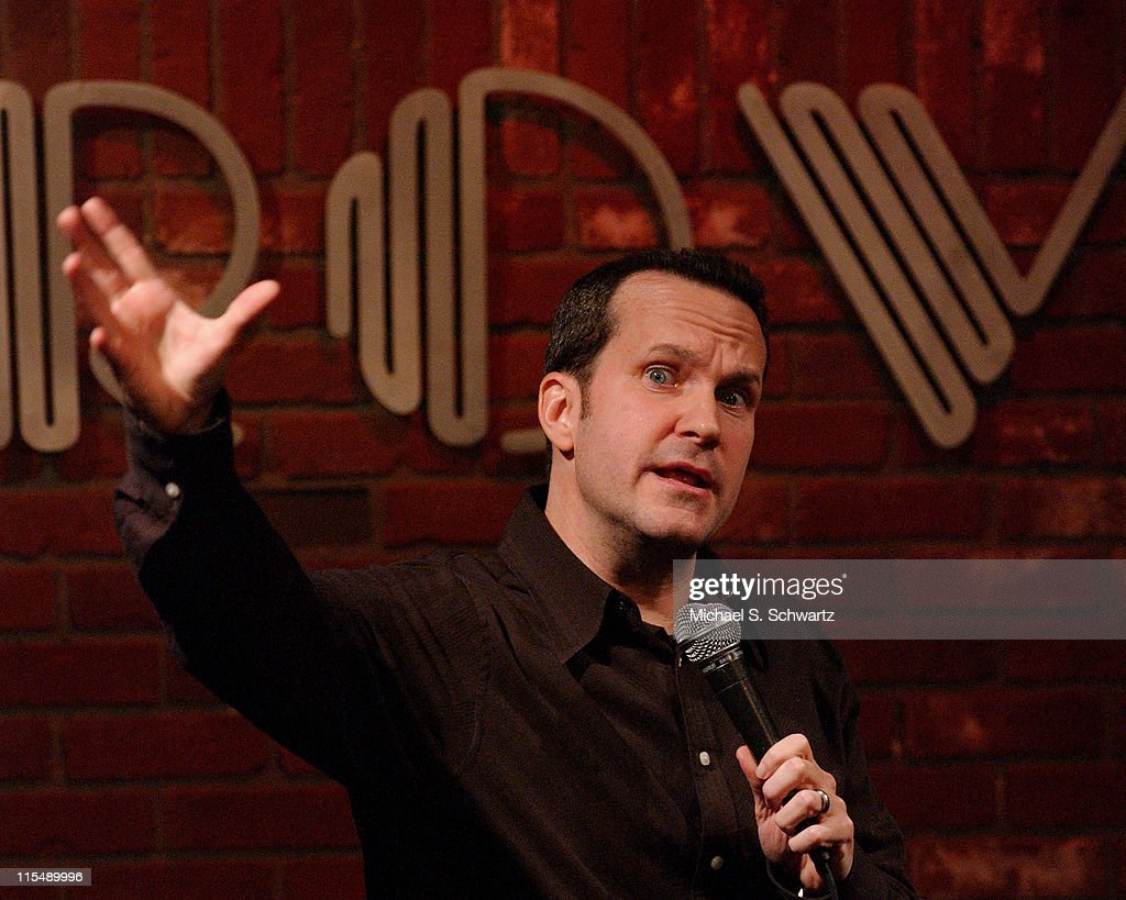 Jimmy Pardo performs at the Hollywood Improv on November 23 2007 in Hollywood California