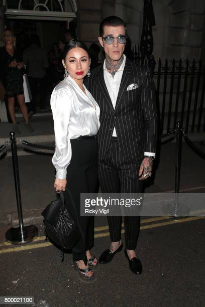 Jimmy Q attends Calvin Klein fragrance launch party at Spencer House on June 22 2017 in London England