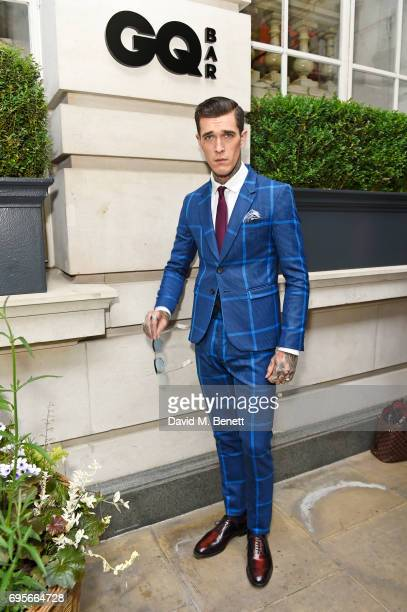 Jimmy Q attends the GQ Bar popup launch party at the Rosewood London on June 13 2017 in London England