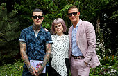 Celebrities Visit The Wedgwood Garden At The Chelsea...