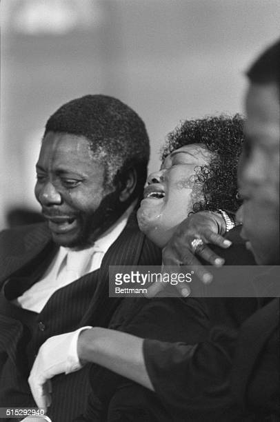 Jimmy Ray Payne's family members break down at the 21yearold's funeral 5/2 at Mount Patmos Baptist church Payne the 26th victim of the killers...