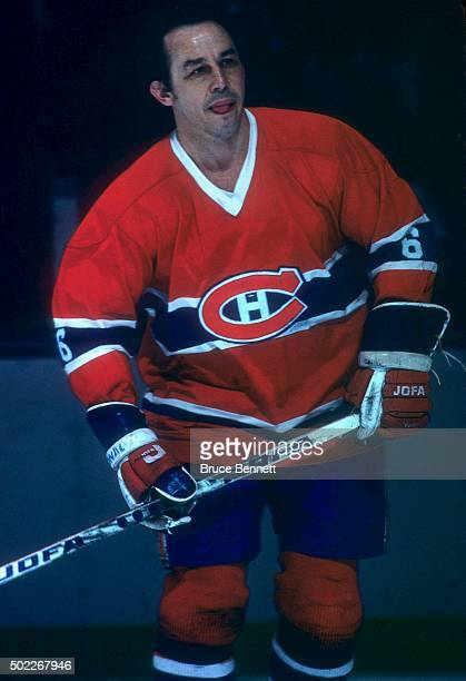 Jimmy Roberts of the Montreal Canadiens skates on the ice during an NHL game against the New York Islanders on March 1 1977 at the Nassau Coliseum in...