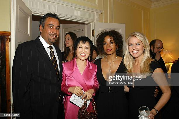 Jimmy Rodriguez YueSai Kan June Haynes and Monica Crowley attend RICHARD TURLEY Birthday Dinner at The Home of YueSai Kan on December 21 2006 in New...