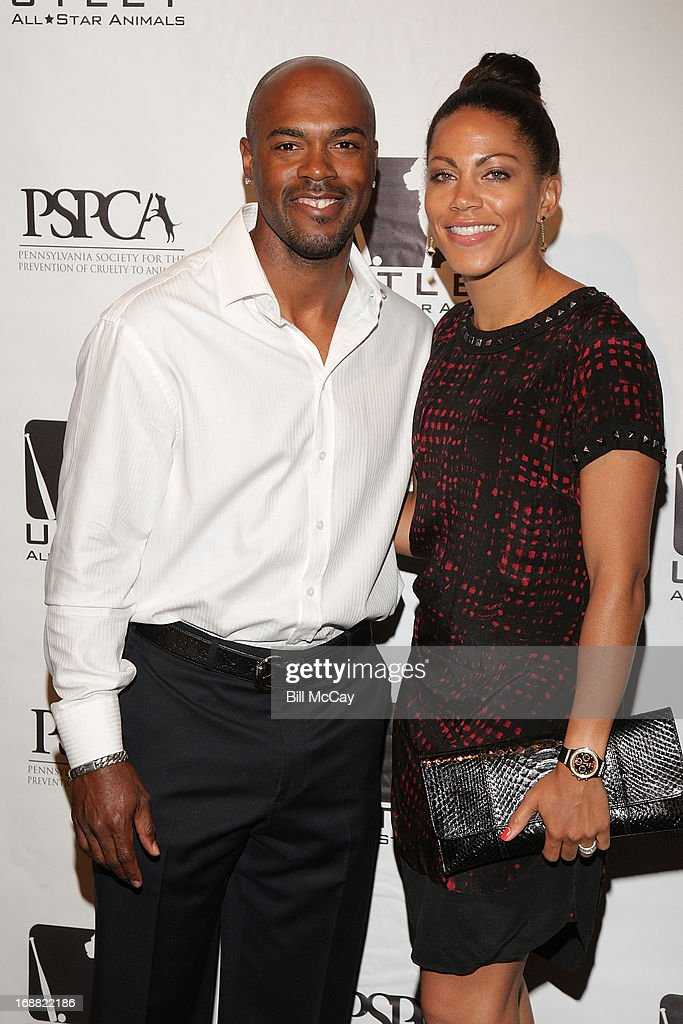 <a gi-track='captionPersonalityLinkClicked' href=/galleries/search?phrase=Jimmy+Rollins&family=editorial&specificpeople=204478 ng-click='$event.stopPropagation()'>Jimmy Rollins</a> and Johari Rollins attend the 6th Annual Utley All-Star Animals Casino Night to benefit the Pennsylvania SPCA at The Electric Factory May 15, 2013 in Philadelphia, Pennsylvania.