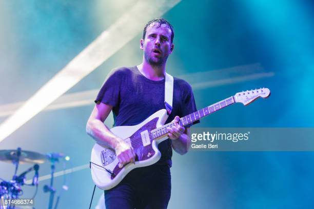 Jimmy Smith of Foals performs live on Day 2 of FIB Festival on July 14 2017 in Benicassim Spain