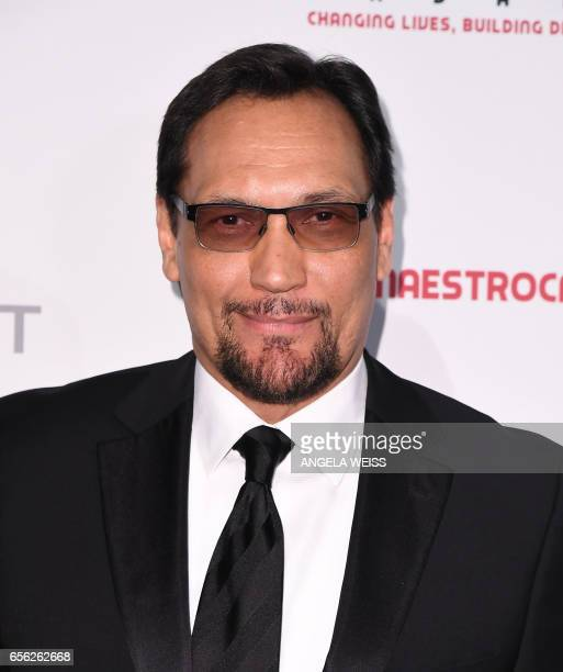 Jimmy Smits attends the Maestro Cares Foundation's 4th annual 'Changing Lives/Building Dreams' gala at Cipriani Wall Street on March 21 2017 in New...