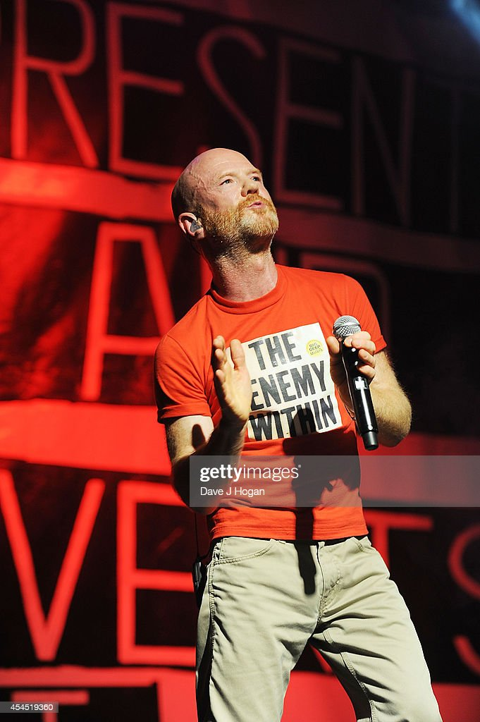 Jimmy Somerville performs live at the after party for 'Pride' at the Electric Ballroom on September 2, 2014 in London, England.