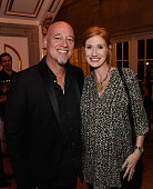 Jimmy Stafford member of rock group Train and Lindsay Stafford attend the MusiCares benefit event hosted by Johnathon Arndt and Newman Arndt on...
