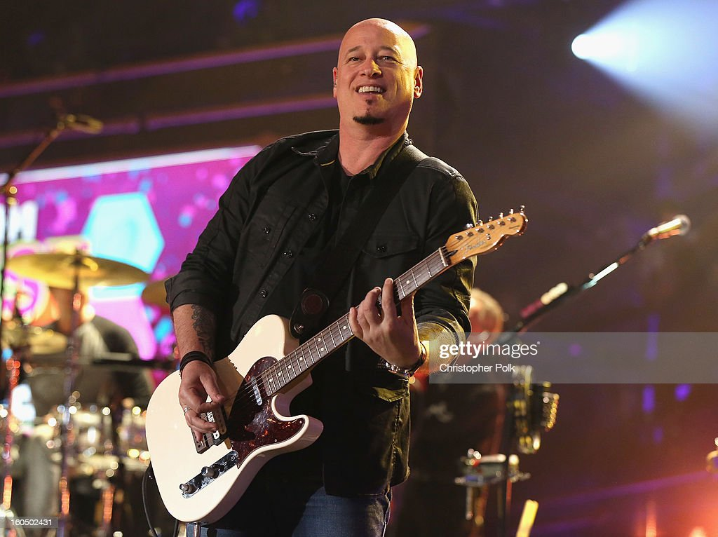 Jimmy Stafford of Train performs during the VH1 Best Super Bowl Concert Ever at Sugar Mill on February 1, 2013 in New Orleans, Louisiana.