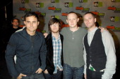 Jimmy Stofer Dave Welsh Isaac Slade and Joe King of The Fray