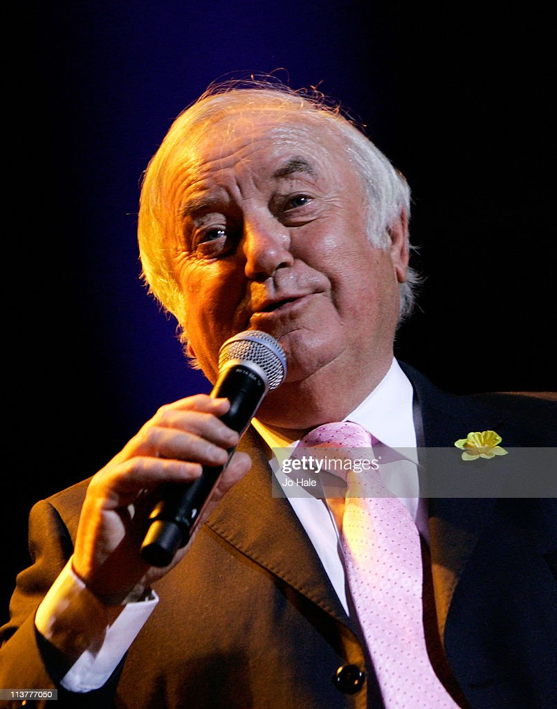 Jimmy Tarbuck performs for Dusty...A Tribute at Royal Albert Hall on May 5, 2011 in London, England.