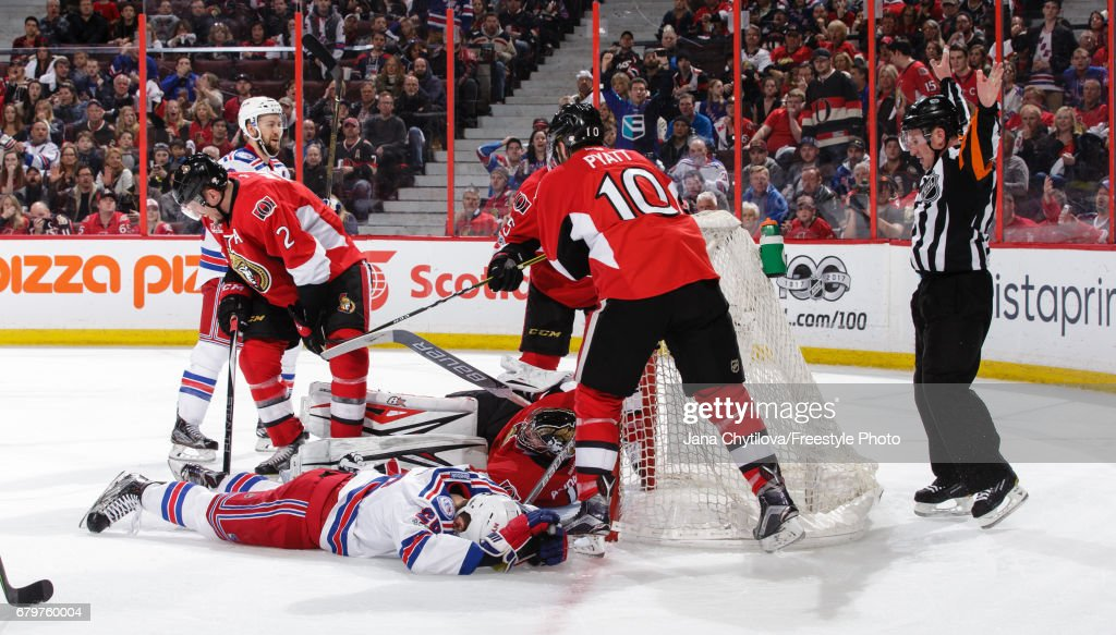 New York Rangers v Ottawa Senators - Game Five