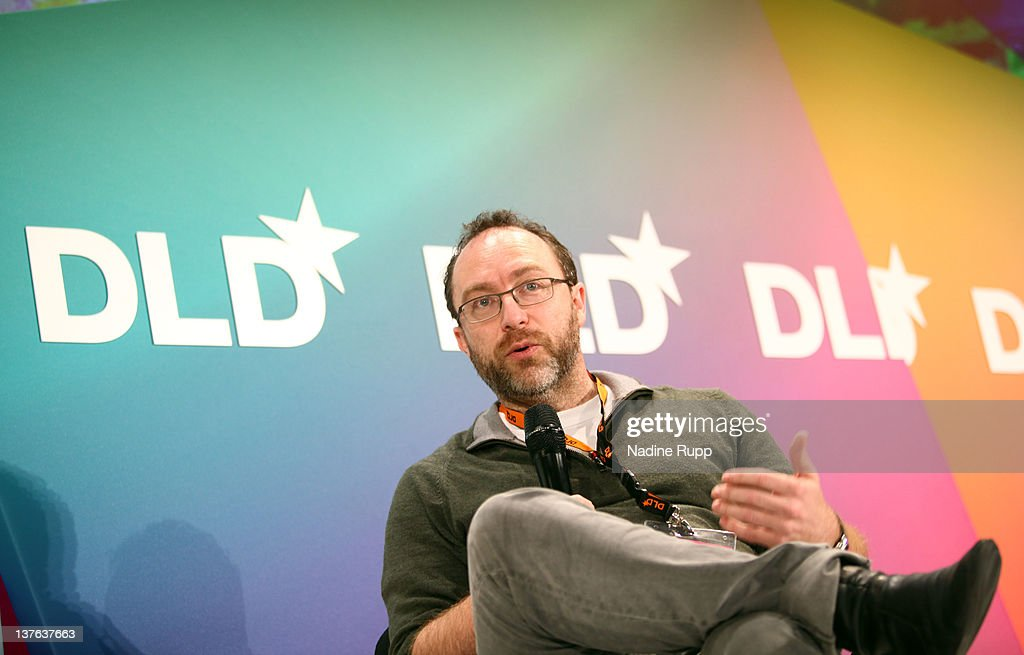 <a gi-track='captionPersonalityLinkClicked' href=/galleries/search?phrase=Jimmy+Wales&family=editorial&specificpeople=836275 ng-click='$event.stopPropagation()'>Jimmy Wales</a> of Wikipedia speaks during the Digital Life Design conference (DLD) at HVB Forum on January 24, 2012 in Munich, Germany. ence and culture which connects business, creative and social leaders, opinion-formers and investors for crossover conversation and inspiration.
