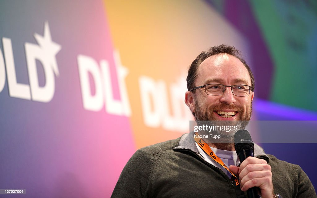 Jimmy Wales of Wikipedia speaks during the Digital Life Design conference (DLD) at HVB Forum on January 24, 2012 in Munich, Germany. ence and culture which connects business, creative and social leaders, opinion-formers and investors for crossover conversation and inspiration.