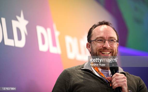 Jimmy Wales of Wikipedia speaks during the Digital Life Design conference at HVB Forum on January 24 2012 in Munich Germany ence and culture which...