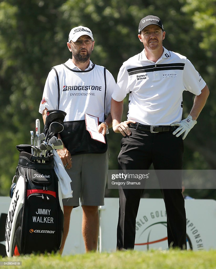 <a gi-track='captionPersonalityLinkClicked' href=/galleries/search?phrase=Jimmy+Walker+-+Golfer&family=editorial&specificpeople=11493198 ng-click='$event.stopPropagation()'>Jimmy Walker</a> prepares to hit off the third tee during the first round of the World Golf Championships - Bridgestone Invitational at Firestone Country Club South Course on June 30, 2016 in Akron, Ohio.