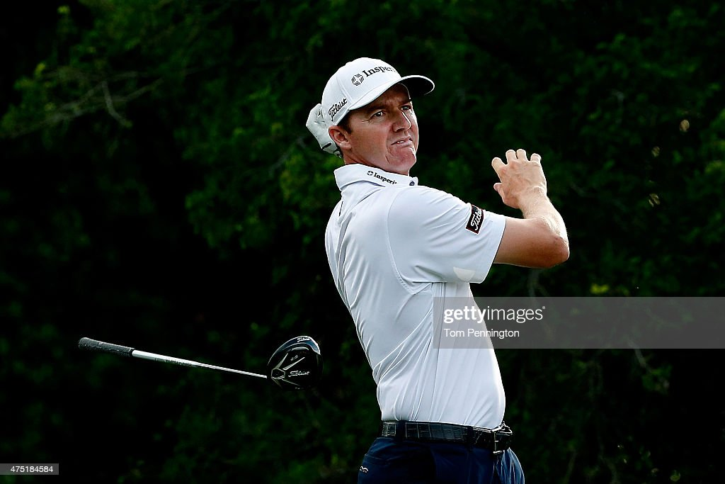 <a gi-track='captionPersonalityLinkClicked' href=/galleries/search?phrase=Jimmy+Walker+-+Jogador+de+golfe&family=editorial&specificpeople=11493198 ng-click='$event.stopPropagation()'>Jimmy Walker</a> releases his driver after hitting a tee shot on the 12th hole during Round Two of the AT&T Byron Nelson at the TPC Four Seasons Resort Las Colinas on May 29, 2015 in Irving, Texas.