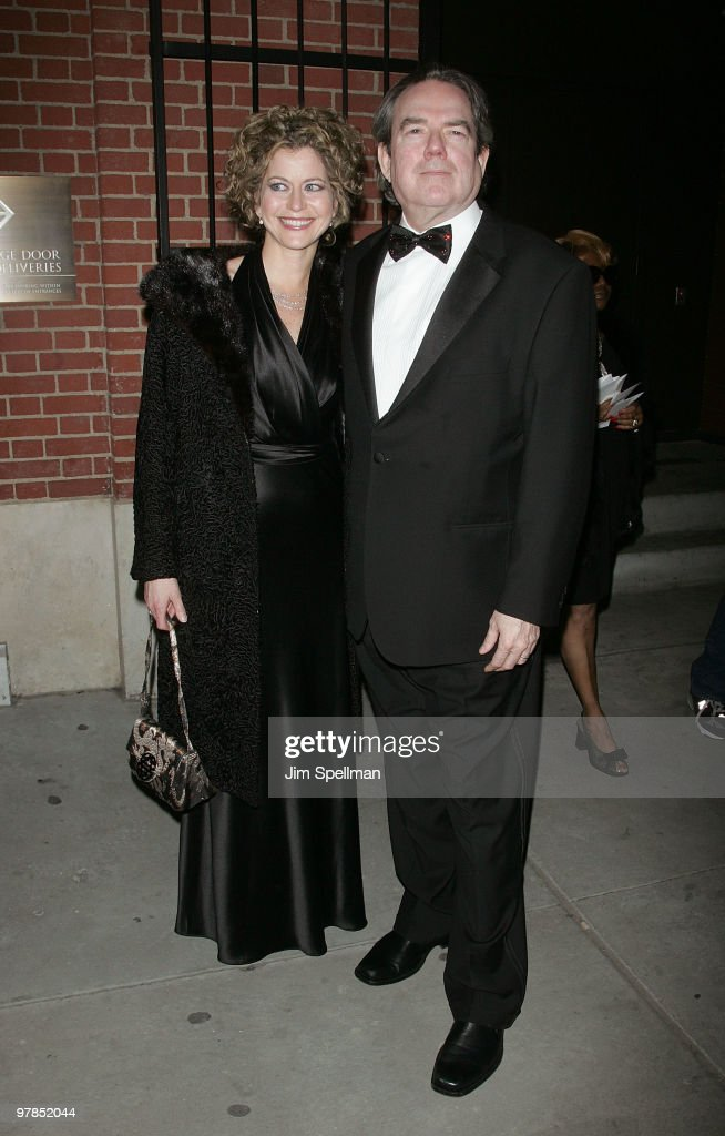Jimmy Webb (R) and guest attend the opening night of 'All About Me' on Broadway at Henry Miller's Theatre on March 18, 2010 in New York City.