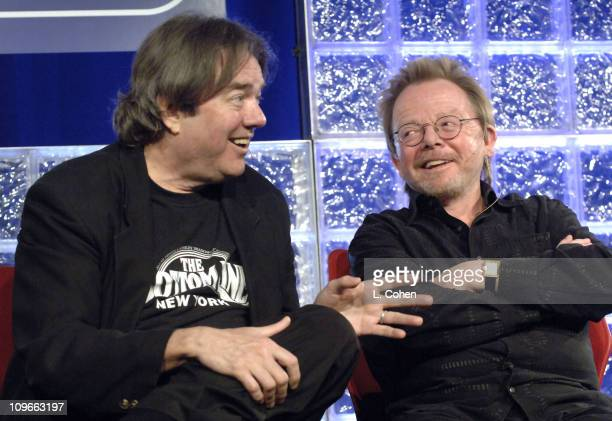 Jimmy Webb and Paul Williams during ASCAP EXPO April 2022 2006 in Hollywood CA United States