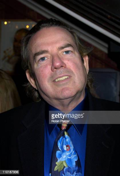 Jimmy Webb during The National Arts Club Honoring Paul Sorvino with their Medal of Honor in Film at The National Arts Club in New York City New York...