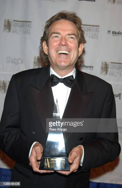 Jimmy Webb recipient of the Johnny Mercer Award during 34th Annual Songwriters Hall Of Fame Awards Pressroom at Marriott Marquis in New York City New...