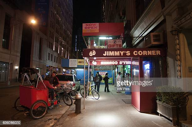 Jimmy's Corner Restaurant New York Midtown West New York NY A coworker and I stopped in here randomly after dinner and couldn't believe our luck with...