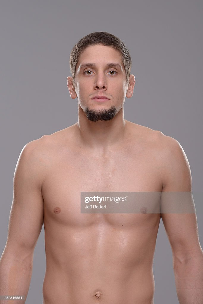 Jimy Hettes poses for a portrait during a UFC photo session on March 12 2014 in Dallas Texas