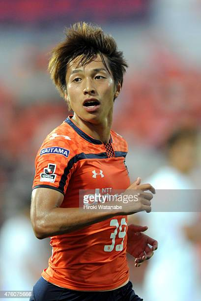 Jin Izumisawa of Omiya Ardija in action during the JLeague second division match between Omiya Ardija and Kamatamare Sanuki at Nack 5 Stadium Omiya...