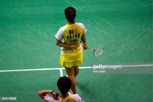 Jin MA Double Femme Championnats du Monde de Badminton 2010 Stade Pierre de Coubertin Paris