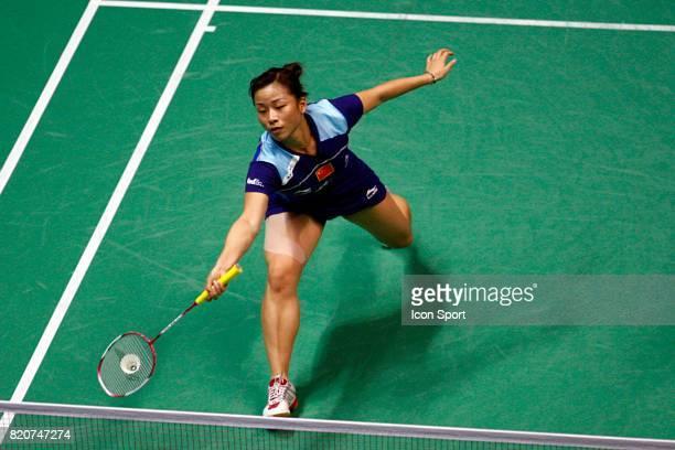 Jin MA Double Femme Finales des Championnats du Monde de Badminton 2010 Stade Pierre de Coubertin Paris