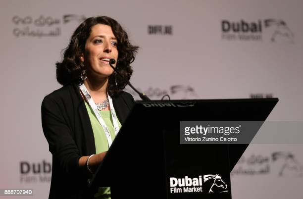 Jinan Coulter speaks ahead of the Alexandra Byrne Costume Design Masterclass on day four of the 14th annual Dubai International Film Festival held at...