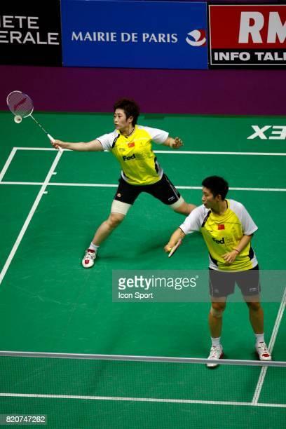 Jing DU / Yang YU Double Femme Finales des Championnats du Monde de Badminton 2010 Stade Pierre de Coubertin Paris