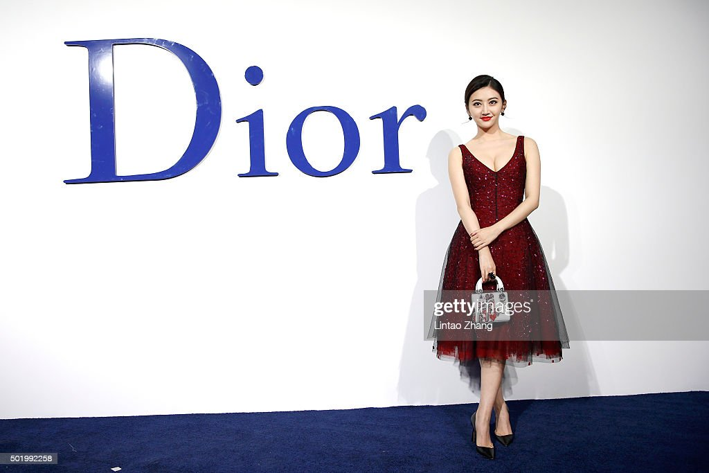 Jing Tian arrives at Dior SS 2016 Repeat Show at the Phoenix International Media Center on December 19 2015 in Beijing China