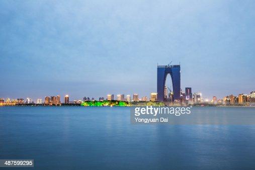 Jinji Lake in Suzhou, China