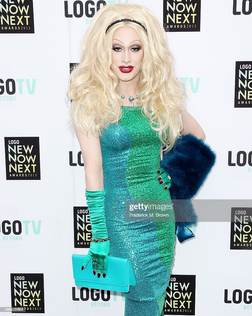 Jinkx Monsoon attends the 2013 NewNowNext Awards at The Fonda Theatre on April 13, 2013 in Los Angeles, California.