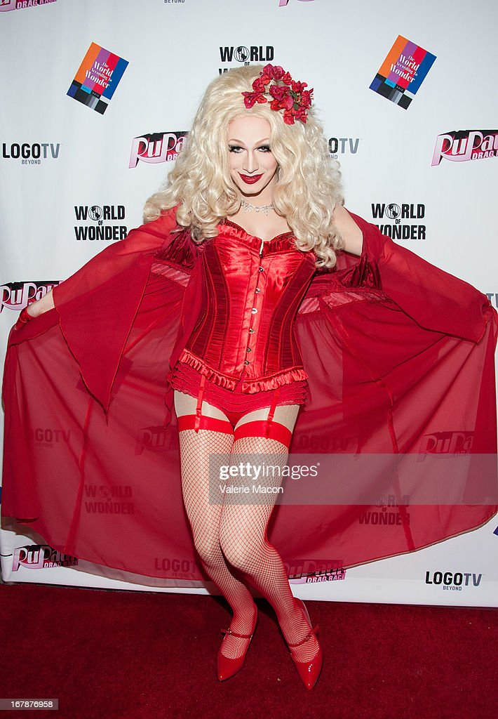 Jinkx Monsoon attends the Finale, Reunion & Coronation Taping Of Logo TV's 'RuPaul's Drag Race' Season 5 on May 1, 2013 in North Hollywood, California.