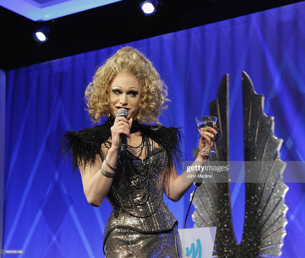 Jinkx Monsoon performs during the during the 24th Annual GLAAD Media Awards at the Hilton San Francisco - Union Square on May 11, 2013 in San Francisco, California.